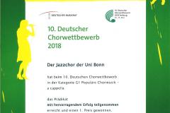 DCW-Urkunde