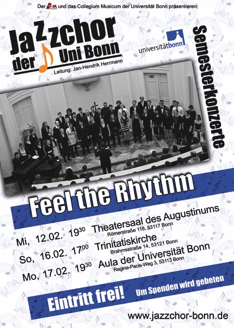 Feel the Rhythm - Flyer